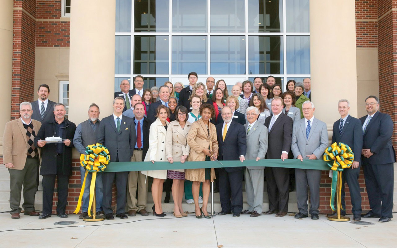 OBU trustees dedicate Stavros Hall