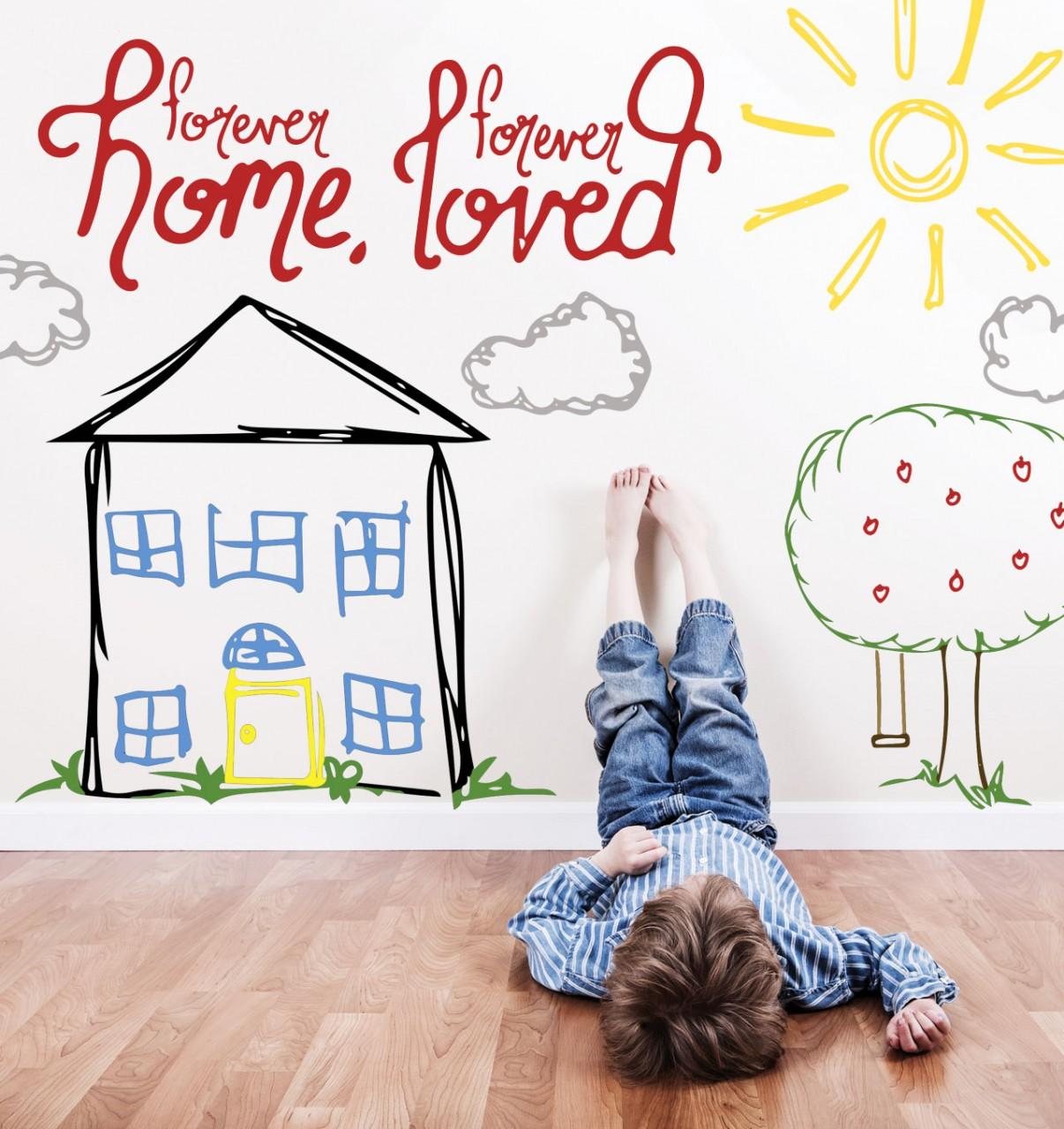 Forever home, forever loved