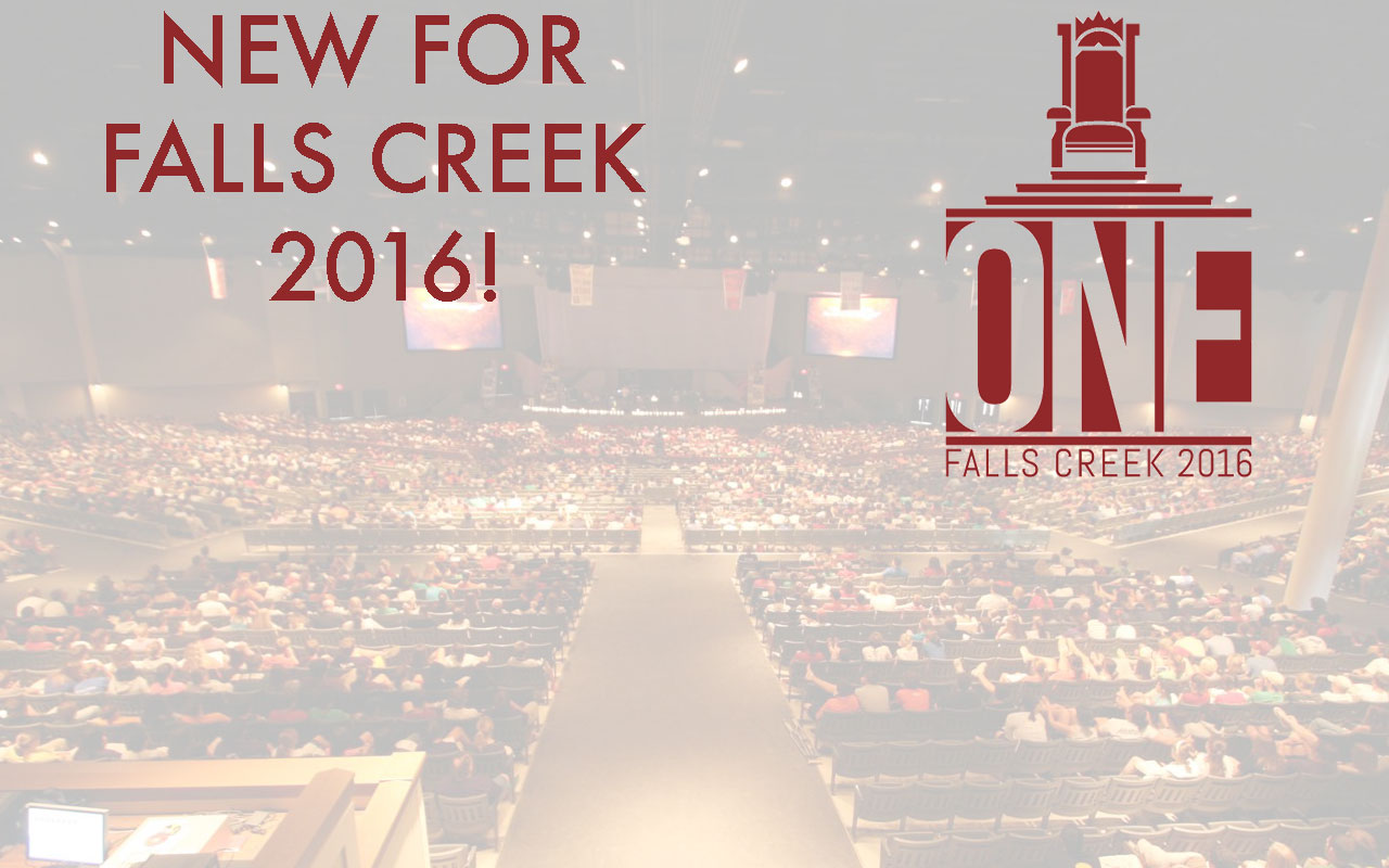 New for Falls Creek 2016!