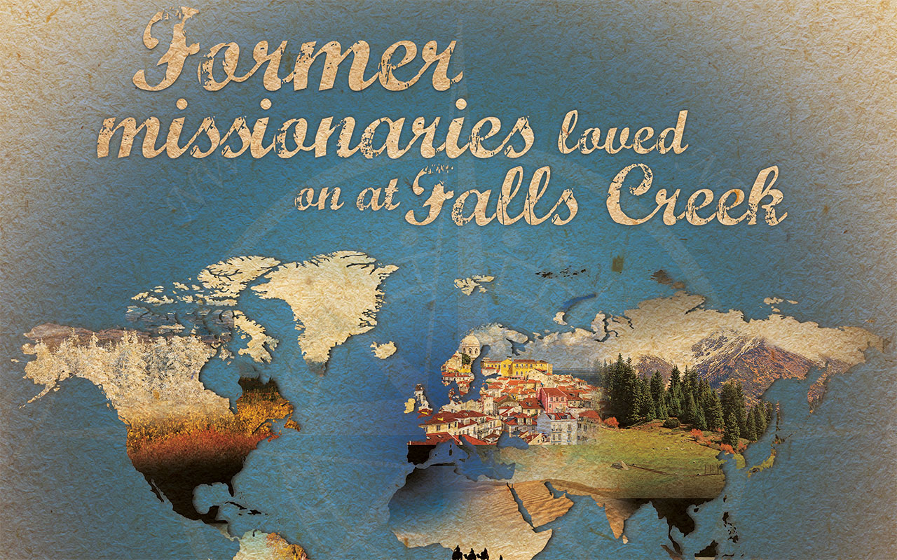 Former missionaries loved on at Falls Creek