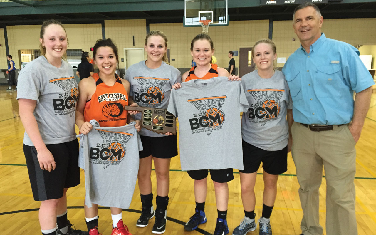 ECU wins men's & women's BCM hoops tourney