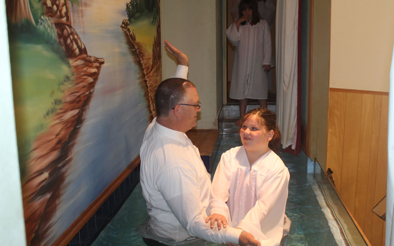 Baptism still the focus to adding to the Kingdom
