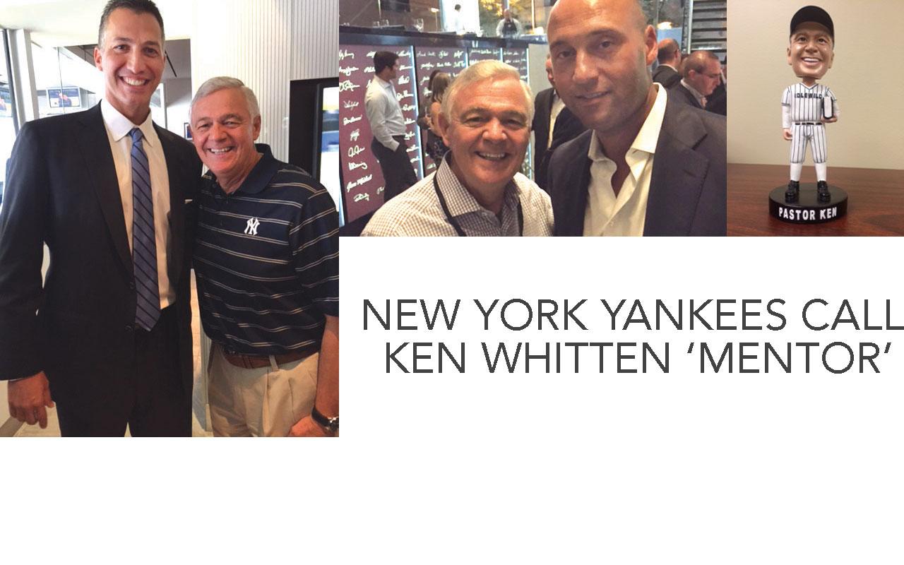 New York Yankees call Ken Whitten 'mentor'