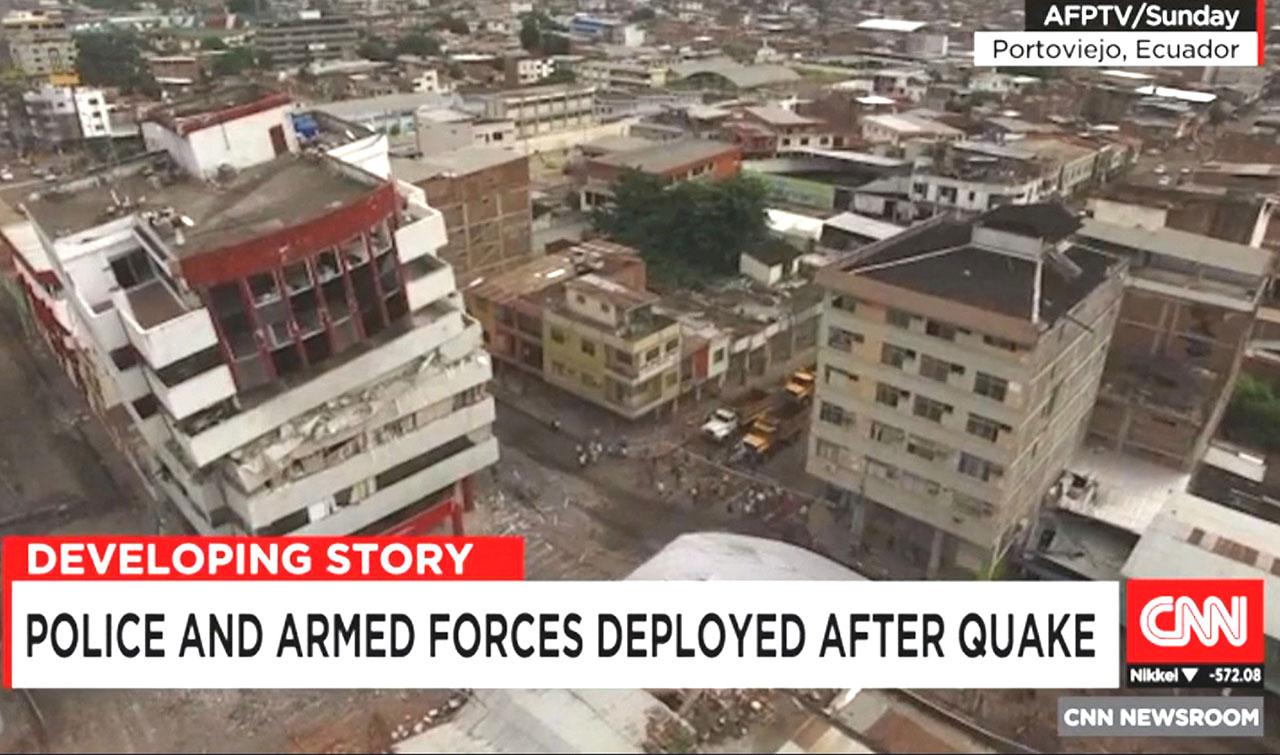 Quakes rock Japan, Ecuador; Baptists assess needs