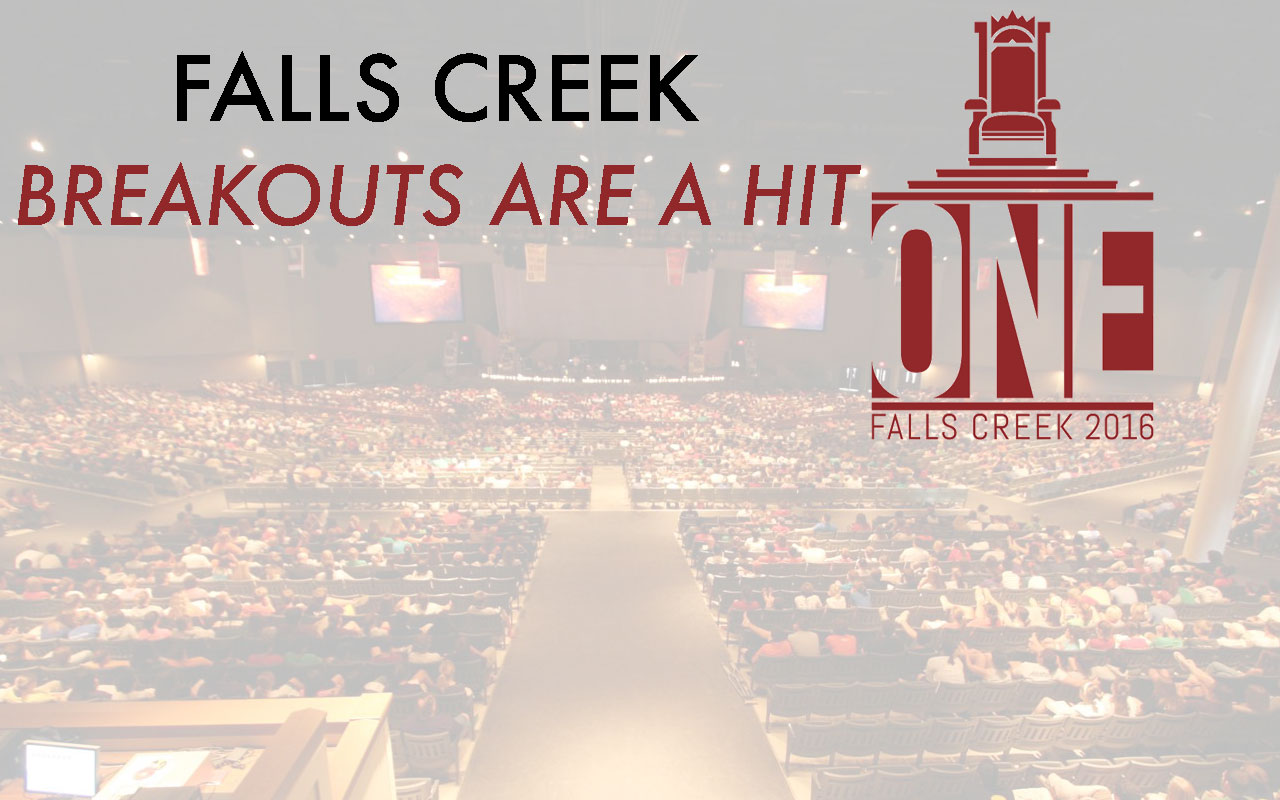 Falls Creek breakouts are a hit!