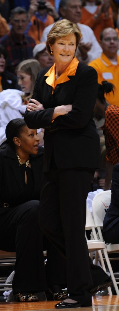 Pat Summitt (Photo: Craig Bisacre, courtesy of Tennessee Athletics)