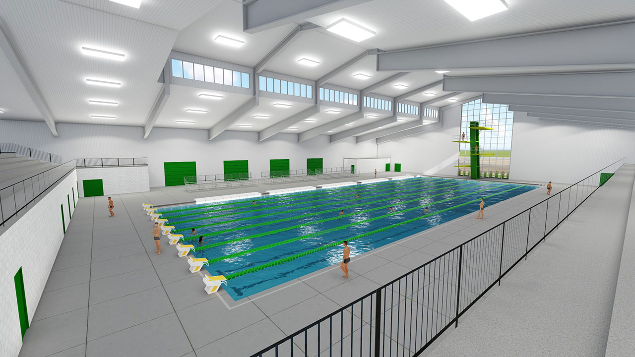 OBU to add swimming & diving complex