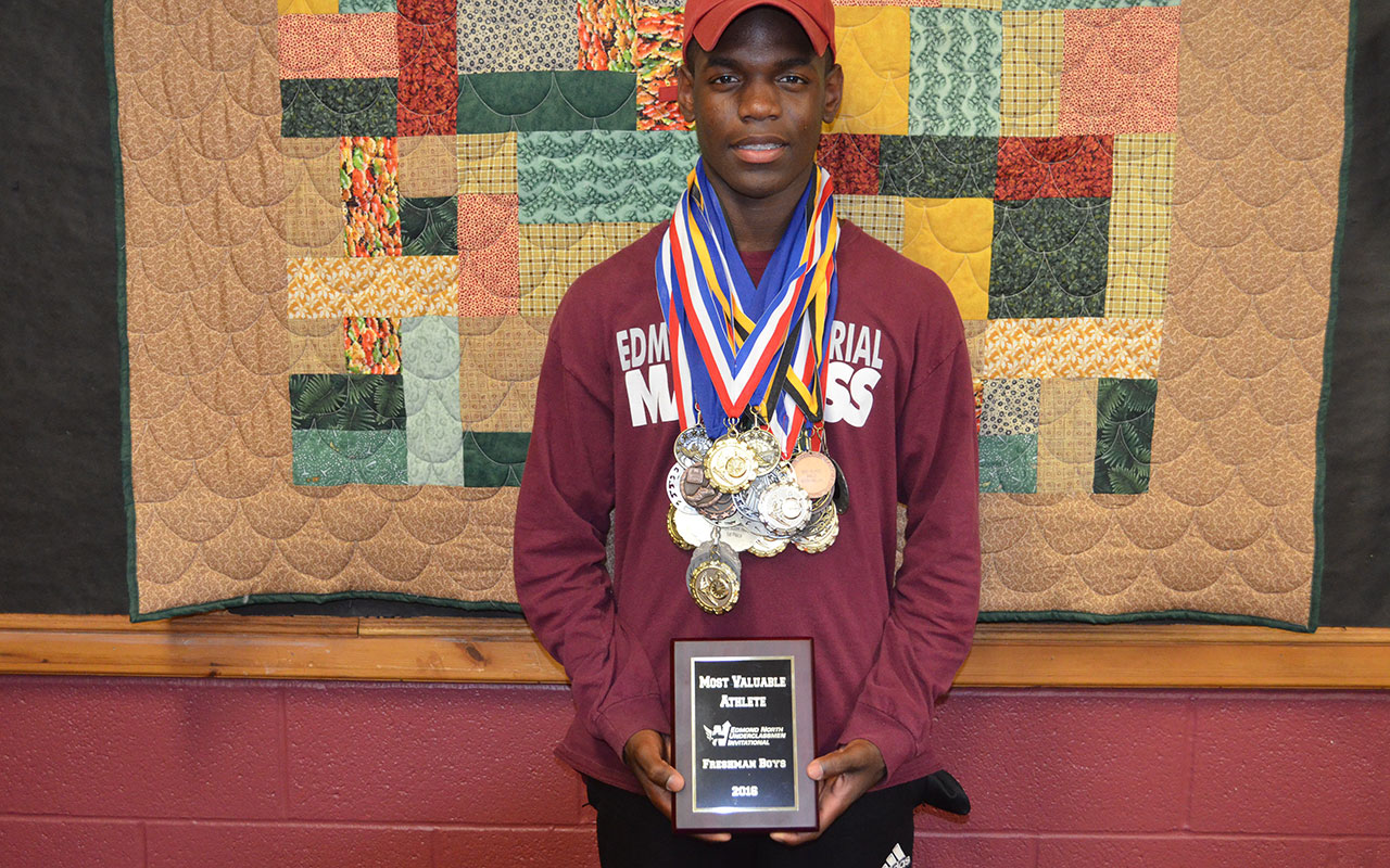OBHC resident succeeds  in state high school track