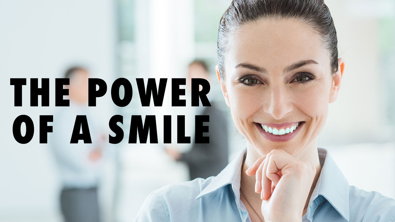 Still developing: The power of a smile