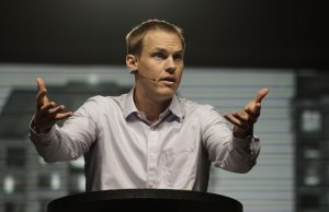 "International Mission Board President David Platt urged those at the 2016 SBC Pastors' Conference in St. Louis to avoid ""Gospel-lite."" ""The last thing the nations needs is the exportation of nominal Christianity from North America,"" he said. (Photo: Matt Miller)"