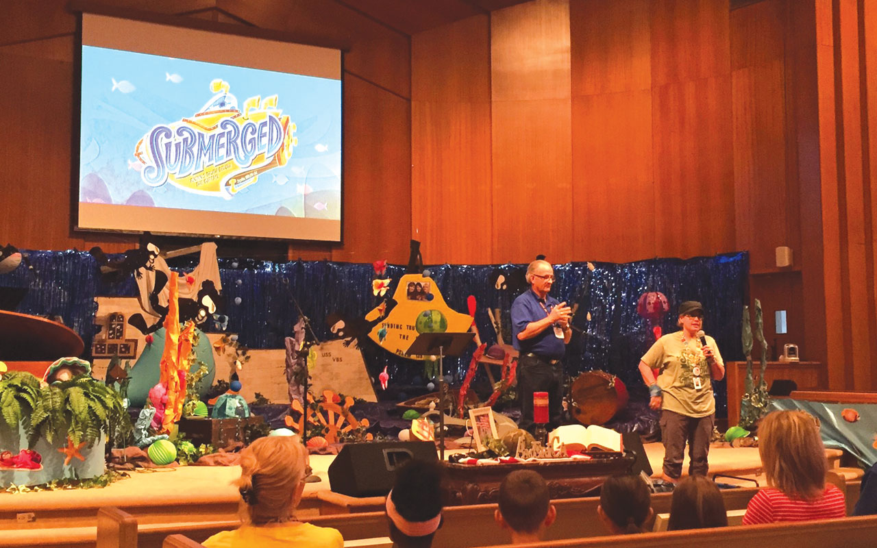 VBS event blesses foster care kids, parents
