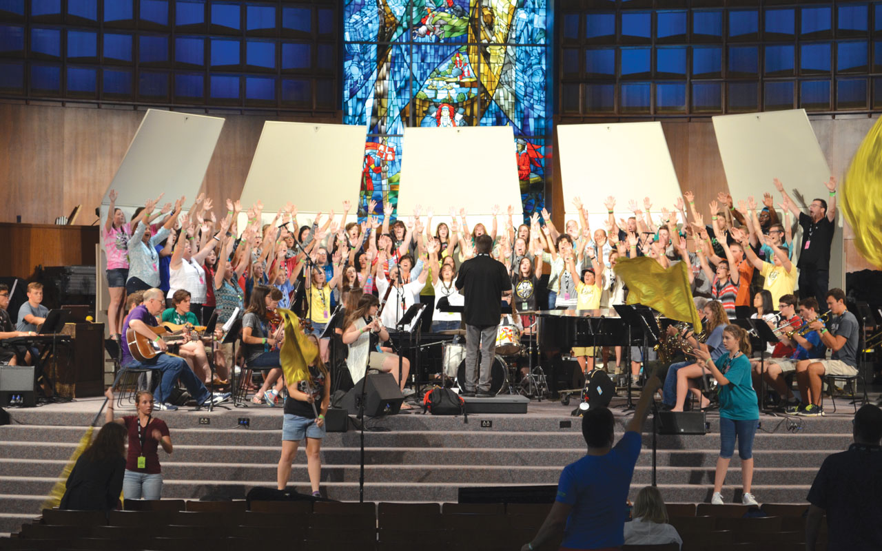 Music camps teach the art of worship