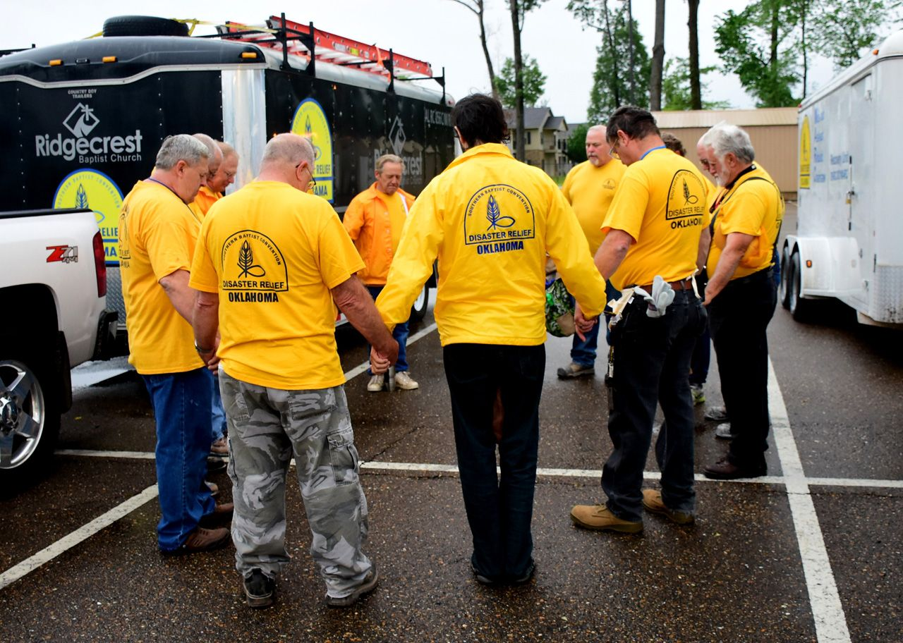 DR volunteers respond to La. flooding