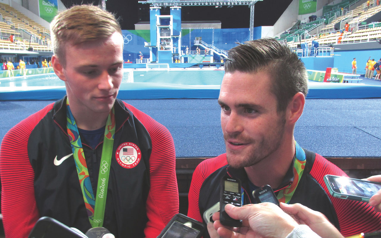 Olympics: Diving duo wins silver, gives credit to Christ
