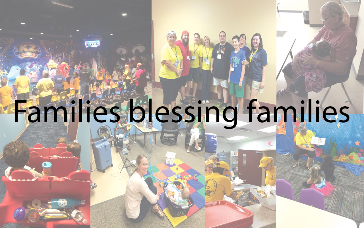 Families blessing families: Foster care VBS event draws unique blend of volunteers