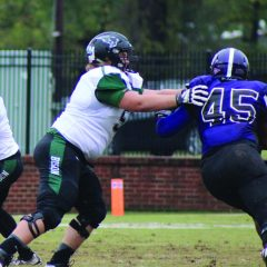 OBU offensive lineman Clark named  to AFCA Allstate 'Good Works Team'
