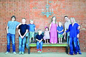 From left, Carter, Luke, Cross, Cavan, Archer, Aubrey, Aric, Linque, Whitney (Select kids' faces have been blocked for their own safety, and in correlation with Foster Care regulations).