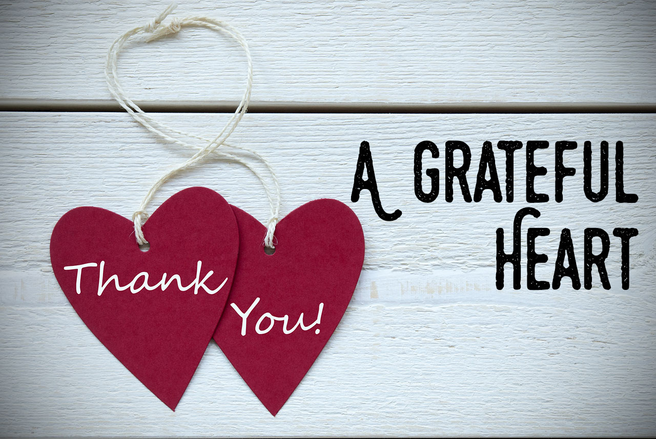 rite of passage  a grateful heart