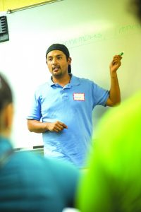 The Language Learning Fellowship offers multiple language classes Photo: Corey Smith