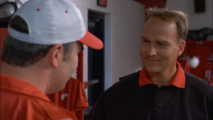"Richt made a cameo appearance the faith-based film ""Facing the Giants."""