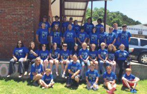 Masham had a good group attend Falls Creek this summer
