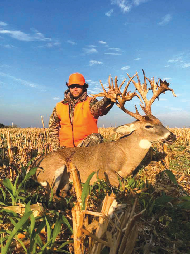 Possible record-breaking buck, baptism in same week
