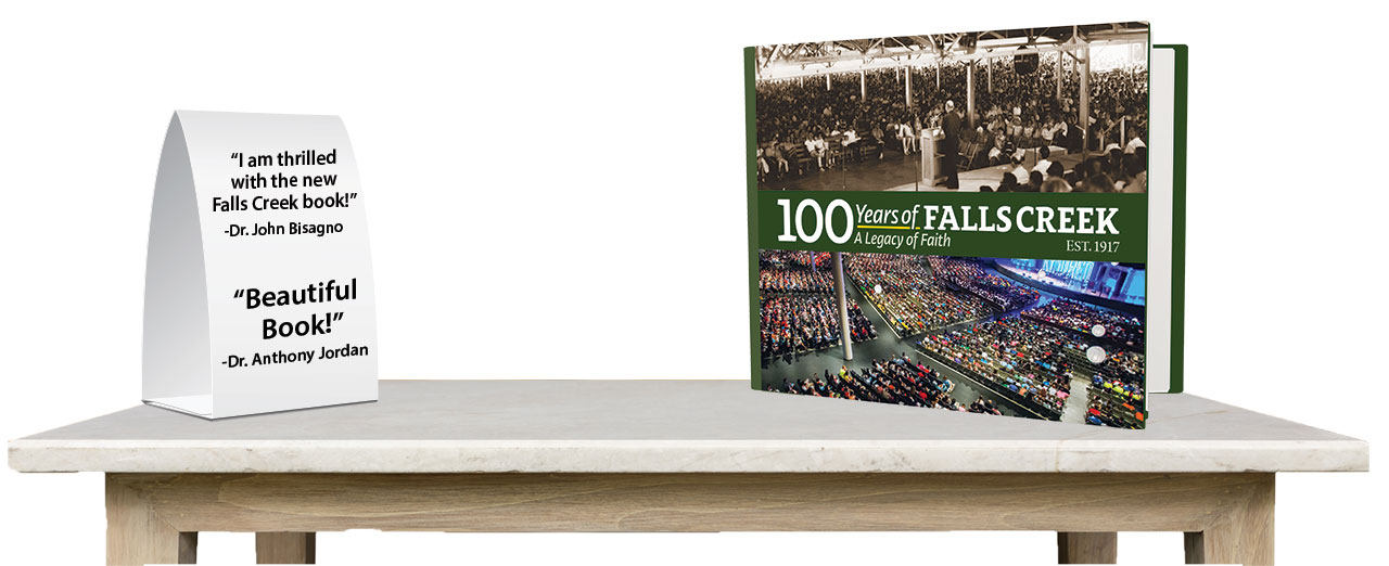 New Book: 100 years of  Falls Creek