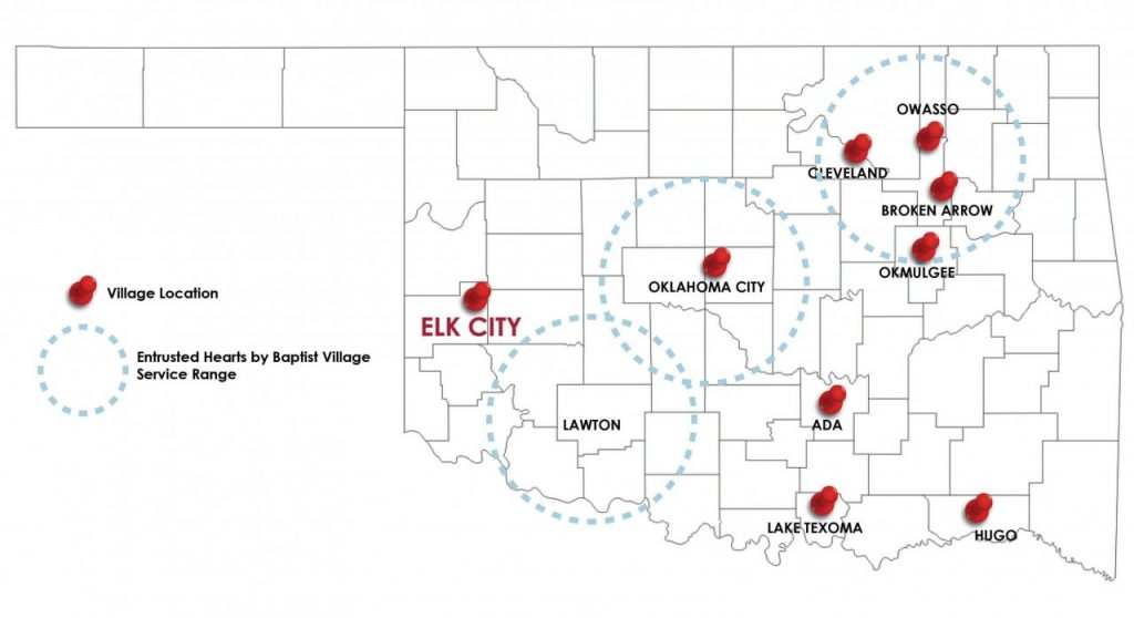 Baptist Village of Elk City becomes the ninth Baptist Village in Oklahoma