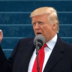 Trump pledges 'America first' in inaugural speech
