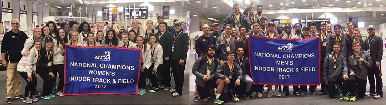 OBU women's & men's track claim national indoor titles