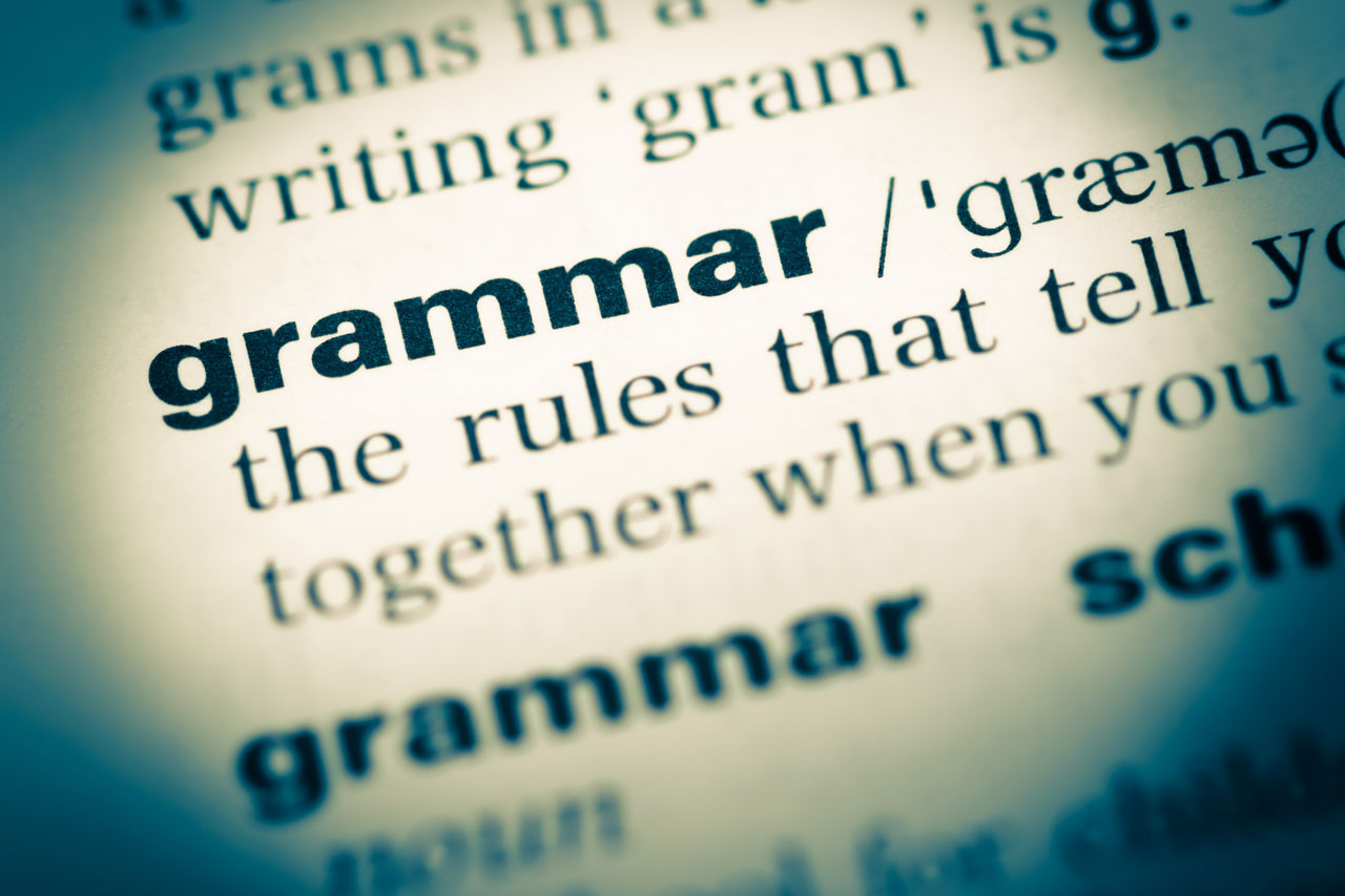 Conventional Thinking: Grammar & gender follies
