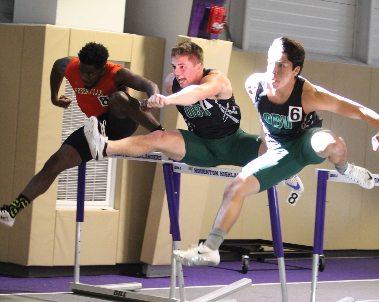 OBU trackster helps others clear hurdles