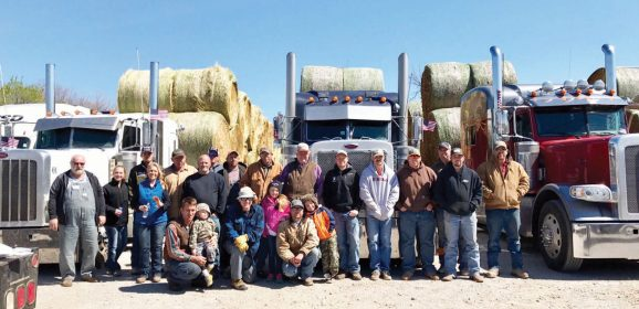 Partnership missions: Hay bale donations bless NW Oklahoma