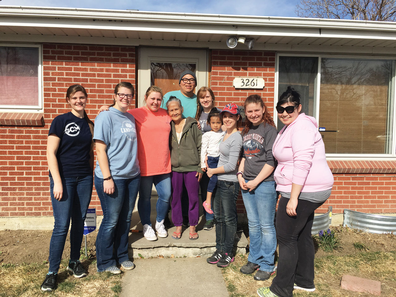 BCMs serve Karen people in CO over Spring Break