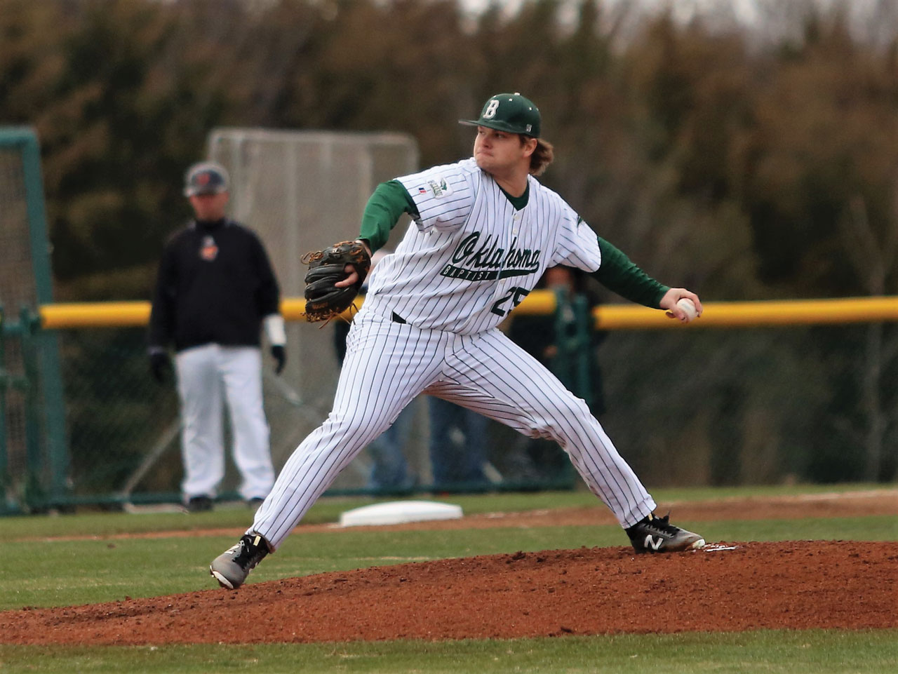 No-hitter highlights season for OBU Baseball