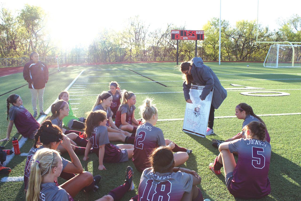 Jenks girls' soccer coach follows God's plan