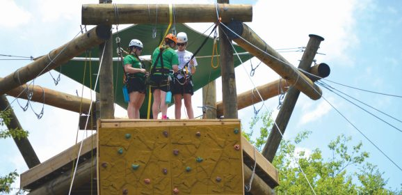 Falls Creek campers enjoy new rec activities