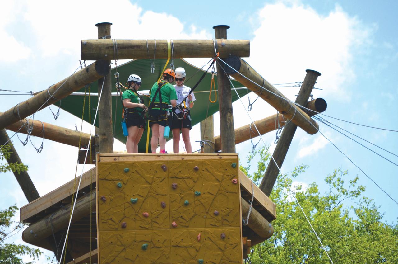Falls Creek campers enjoy new rec activities