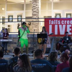 Falls Creek LIVE! providing campers musical outlet in front of thousands