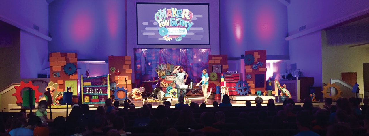 Bethany, First & Shawnee, Immanuel host foster VBS