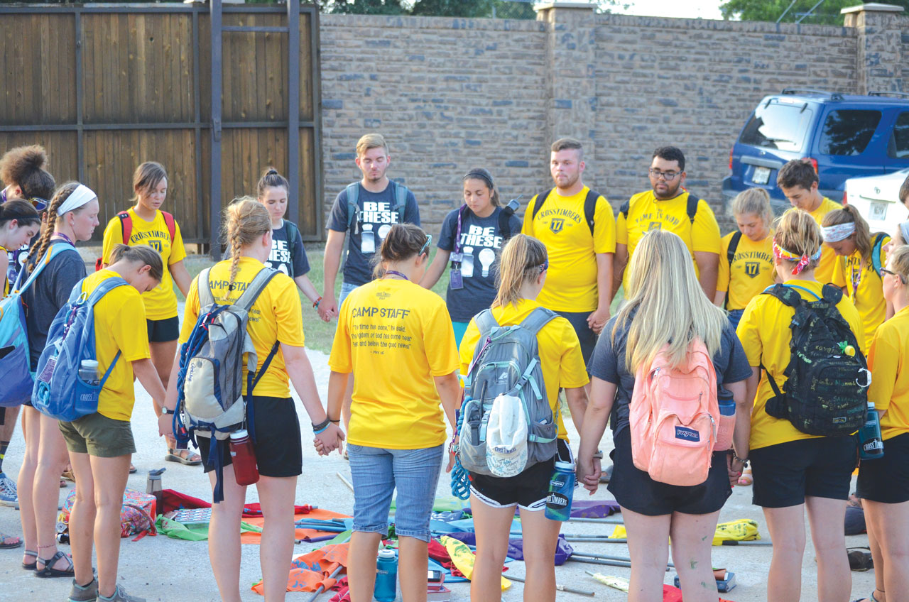 Summer staff makes CrossTimbers special