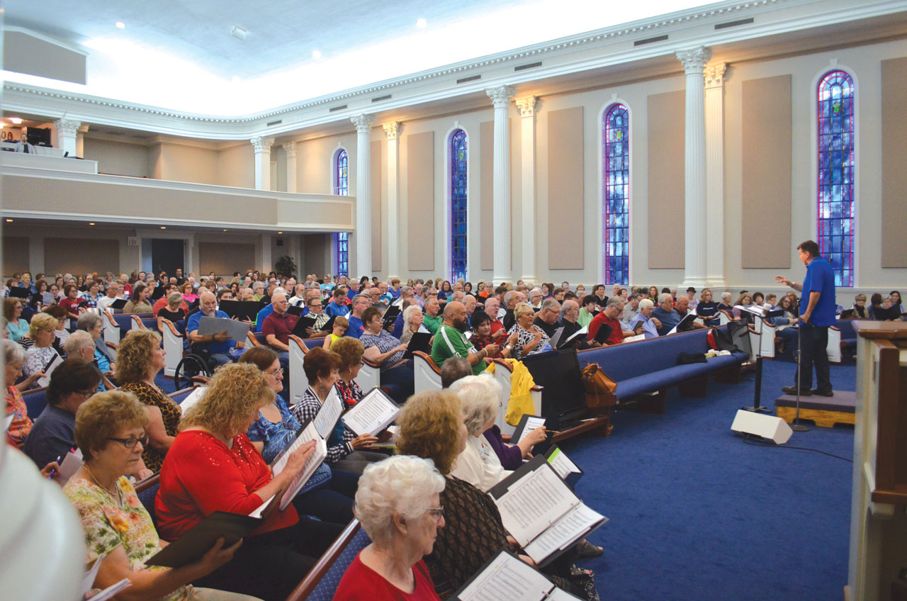 Falls Creek Centennial Choir is 'ready to go' Sept. 3