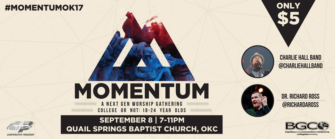 Momentum reaches ALL 18-24 year olds, Sept. 8