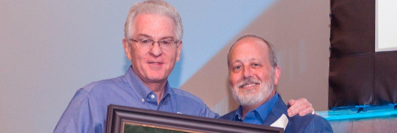 Jordan Receives OBU's Hobbs Award During Falls Creek Centennial Celebration
