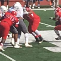Bacone College football player encourages others to find the Lord