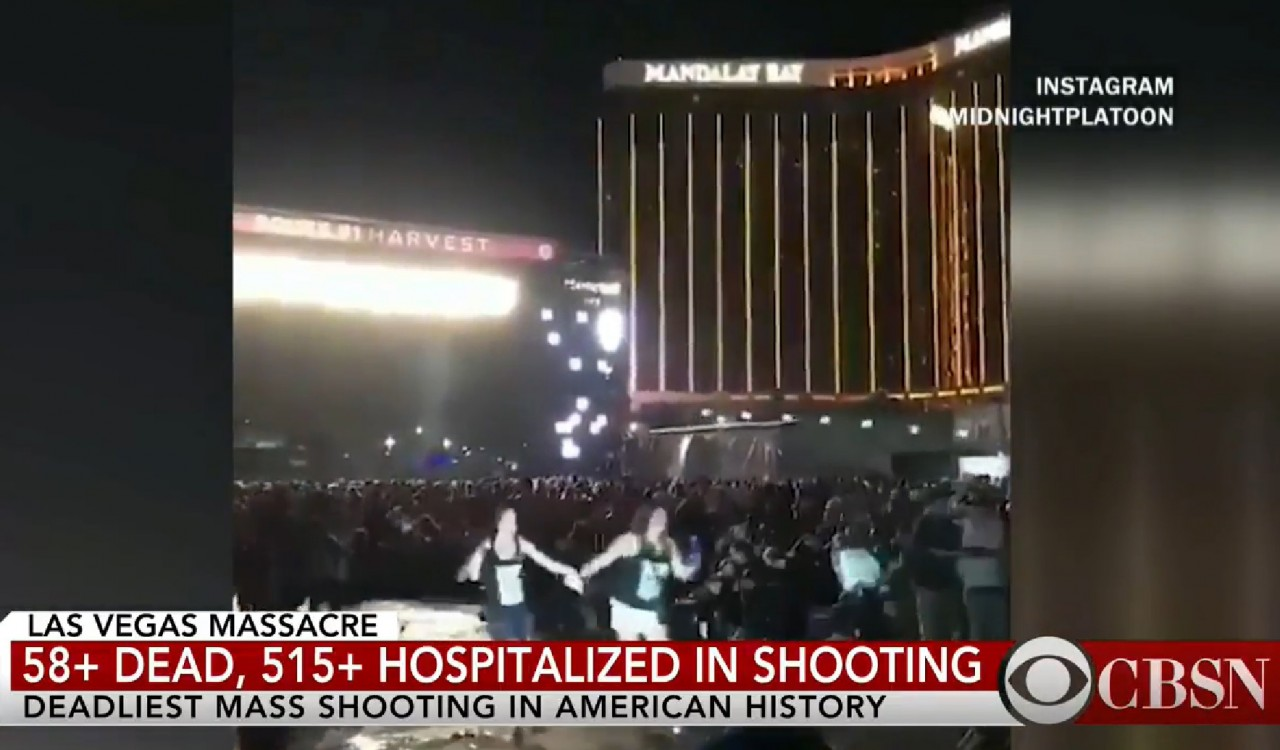 Las Vegas mass shooting: 'act of pure evil'