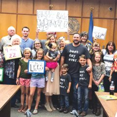 Happy-Lee ever after: Sibling group of four adopted by Del City family