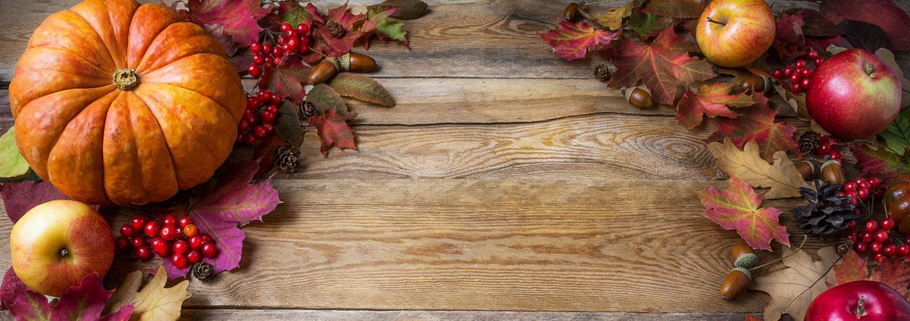 La Escuela de Ministerio Cristiano Robert Haskins Les Desea un Feliz Día de Acción de Gracias