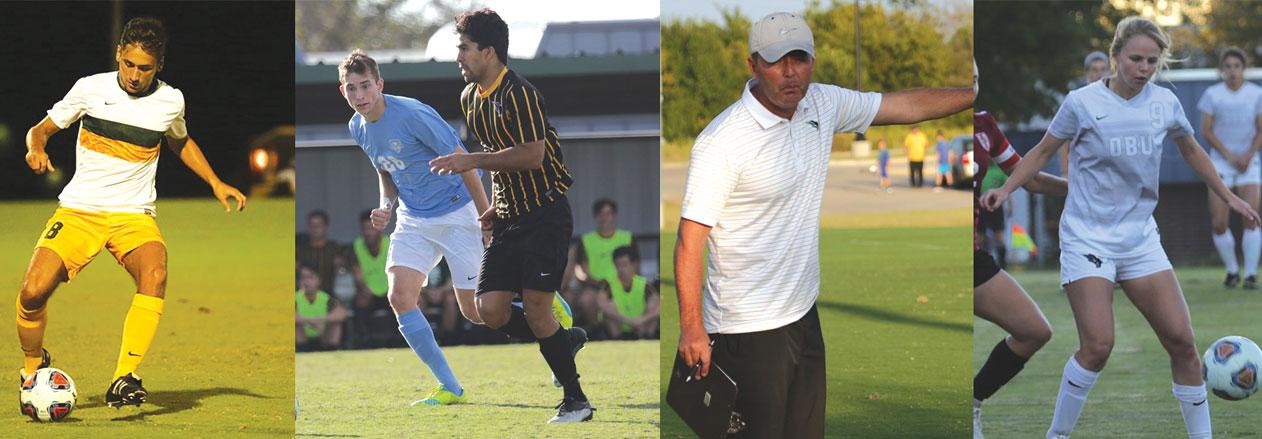OBU men's & women's soccer collect 12 GAC honors