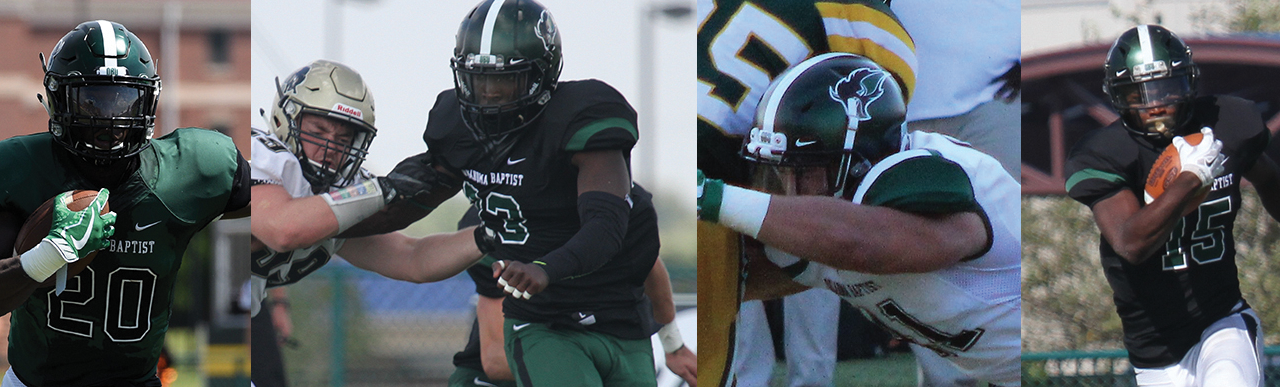 Four OBU football players honored by GAC